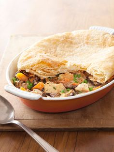 If You Like...Chicken Pot Pie, try Creamy Chicken and Mushroom Pie from Good Housekeeping Magazine