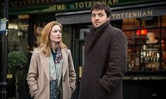 'A relationship you really care about': Holliday Grainger and Tom Burke as Robin and Cormoran.