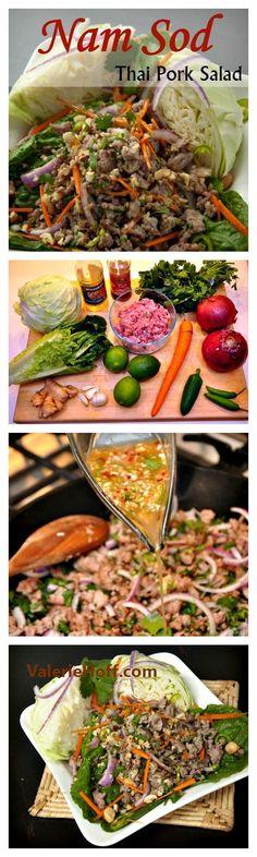 Nam Sod - Thai Pork Salad