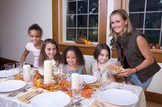 Thanksgiving etiquette to teach your kids
