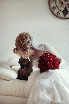 A Bride And Her Cat- I may sound like the ultimate cat lady but I need this with my 4 fur babies!!