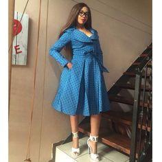 2017 african sotho shweshwe dresses - style you 7 Latest African Fashion Dresses, African Dresses For Women, African Print Dresses, African Attire, African Clothes, Ankara Fashion, Fashion Skirts, African Prints, African Wear