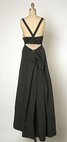 House of Balenciaga   Evening dress   French   1938-39