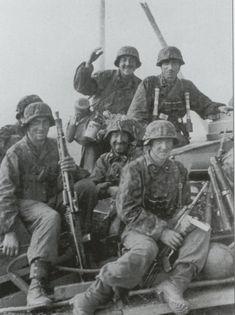 Finnish SS volunteers in Russia 1942