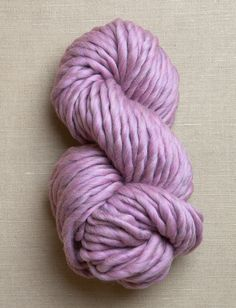 Gentle Giant Yarn in Silver Berry (pictured) and Heirloom White for the Beautyberry blanket