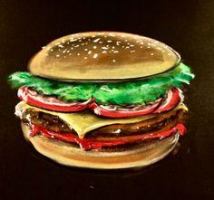 Tasty Burger, isnt it? ;) chalkart.de