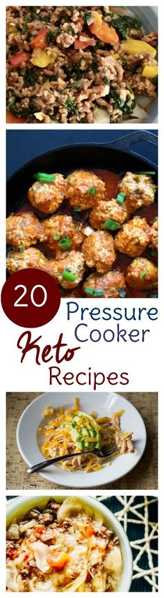 Break out the pressure cooker keto recipes! These Instant Pot Keto recipes will help you stick with your low carb high fat diet by making meals convenient.