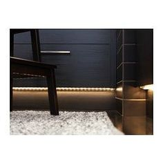 DIODER LED 4-piece light strip set - IKEA....could place in nook between bed and bathroom fur ambiance lighting