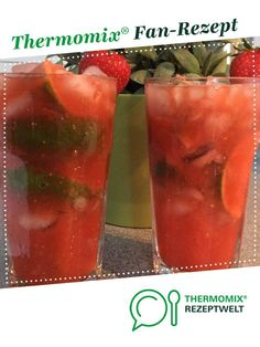 Strawberry caipirinha cocktail by Sabina Gluszko. A Thermomix ® recipe from . - Strawberry caipirinha cocktail by Sabina Gluszko. A Thermomix ® recipe from the drinks category ww - Summer Cocktails, Cocktail Drinks, Cocktail Recipes, Summer Sangria, Caipirinha Cocktail, Thanksgiving Cocktails, Thanksgiving Appetizers, Milk Shakes, Coconut Rum