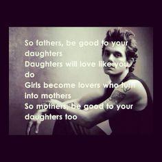John Mayer- Daughters