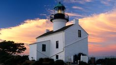 Old Point Loma Lighthouse, Cabrillo National Monument, California - http://imashon.com/travel/old-point-loma-lighthouse-cabrillo-national-monument-california.html
