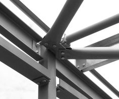 (FLI) has launched a patented, weld-free method of connecting tube bracing elements in steel frame buildings. The bolted, pressed end connection is based on technology that has been used in communications towers for 30 years, and is formed by a mechanical process that generates a symmetrical fork end in the tube. Because the connection is symmetrical, all loading is applied axially through the connection without the need to worry about eccentric loading.