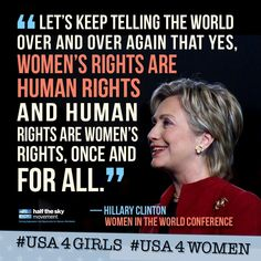 Women's Rights Quotes Delectable 6 Best Barack Obama Quotes About Women  Barack Obama Obama And Woman Inspiration Design