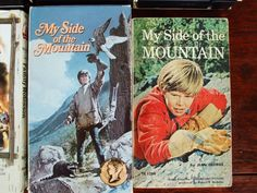 Second Silver - My Side of the Mountain VHS 100 min 1969 + pb book