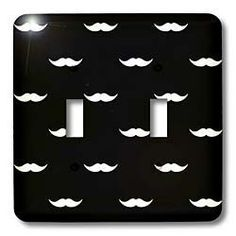 PS Creations - Hip Mustaches Black and White Art - ($13.75)