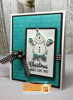 Gina K. Designs & CardMaker Blog Hop! | Creative Lady
