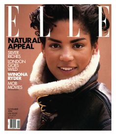 Veronica Webb Having appeared in British Vogue, on the cover of French Elle, and Italian Vogue, Webb had a major career breakthrough in 1992 when she signed an exclusive contract with cosmetics giant Revlon, becoming the first black model to do so. Black Supermodels, Original Supermodels, Natalia Vodianova, Lily Aldridge, Claudia Schiffer, Cindy Crawford, Naomi Campbell, Heidi Klum, Veronica Webb