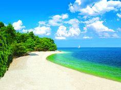 Kanegra beach, Umag, Croatia #croatia #beach #umag