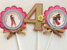 3 Elena of Avalor Birthday Party by sweetheartpartyshop on Etsy