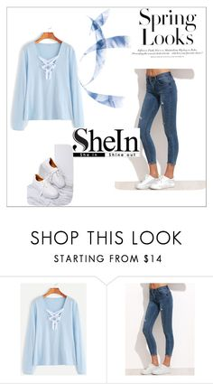 """Shein 12"" by zerina913 ❤ liked on Polyvore featuring H&M and shein"