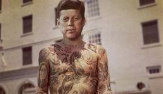 Künstler tätowiert Prominente mit Photoshop - http://www.dravenstales.ch/kuenstler-taetowiert-prominente-mit-photoshop/