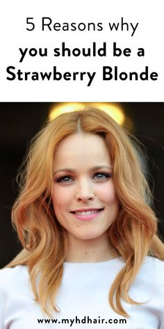 5 Reasons why you should be Strawberry Blonde - All For Hair Color Trending Ginger Blonde Hair, Beach Blonde Hair, Blonde Hair Makeup, Light Blonde Hair, Red To Blonde, Light Copper Hair, Stawberry Blonde, Strawberry Blonde Highlights, Strawberry Blonde Hair Color