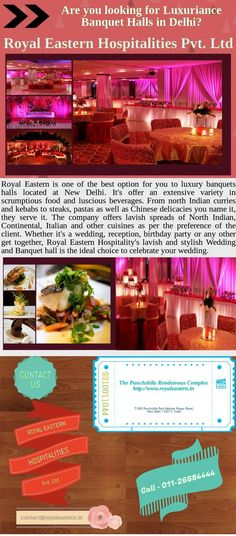 Whether it's a wedding, reception, birthday party or any other get together, Royal Western Hospitality's lavish and stylish Wedding and Banquet hall is the ideal choice to celebrate your wedding. Royal Eastern Hospitality Pvt.Ltd. charges 1300-1500 INR for vegetarian menu and 1400-1600 INR for non-vegetarian menu (excluding taxes). Adding to the overall appeal of private celebrations, corporate events and institutional functions.