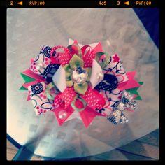 Pink bows!