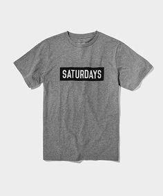 SATURDAYS SURF NYC(サタデーズ サーフ ニューヨーク)のSATURDAYS BAR(Tシャツ/カットソー)|グレー