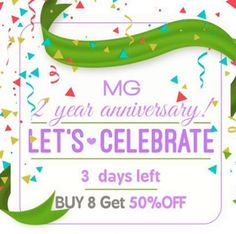 Madam Glam is 2 years old and so far it has been an amazing journey all thanks to you ❤️ we are blessed to have so many amazing customers always sharing their love and giving us feedback on how to improve.❤️❤️❤️😘😘😘 Don't forget to take advantage of the 50%off sale going on right now 😚 #madamglam #birthday #love #celebration #2yearsold #sale #anniversary