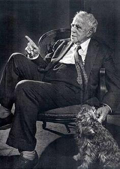 Robert Frost, 1958 por Yousuf-karsh