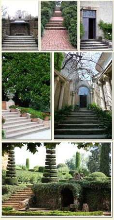 passages and stairways