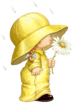Images Ruth Morehead - Page 4 Image Clipart, Cute Clipart, Precious Moments, Cute Images, Cute Pictures, Holly Hobbie, Baby Art, Mellow Yellow, Color Yellow