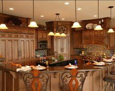 back splash | Brown Mosaic Tile Stove Backsplash Design Ideas, Pictures, Remodel ...