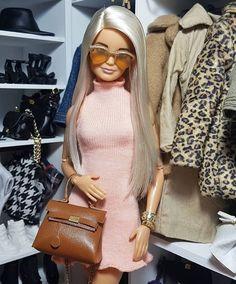 Barbie Doll Set, Beautiful Barbie Dolls, Barbie Dress, Barbie Tumblr, Barbies Pics, Barbie Fashionista Dolls, Diy Barbie Clothes, Barbie Life, Barbie Collector