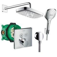 HANSGROHE DESIGN SHOWER SET RAINDANCE SELECT E Душ комплект за вграждане за баня 27296000