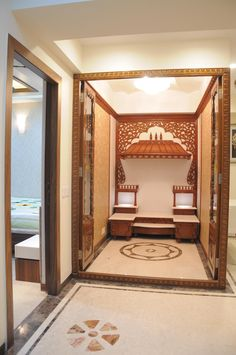 Home Interior Cocina Pooja Room Door Design, Home Room Design, Home Design Plans, Home Interior Design, Room Interior, Interior Designing, Design Bedroom, Interior Ideas, Temple Design For Home