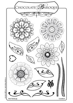 Images of Zentangle   ... play with Zentangles, I went looking for stamps I could incorporate