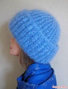как оформить донышко шапочки