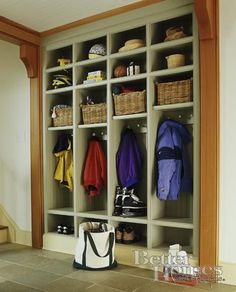 entryway / mud room idea for my future dream house!