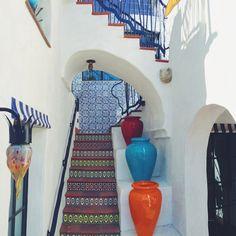 Pot and Tile Designs by Jeff Shelton Architect at El Jardin