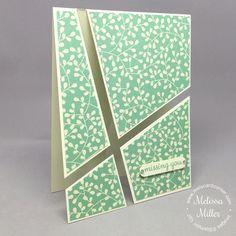 Mel's Card Corner   Missing You Acetate Card