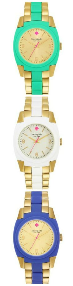 Hope mom likes her Kate Spade bracelet watch on Mothers Day! durupaper.com
