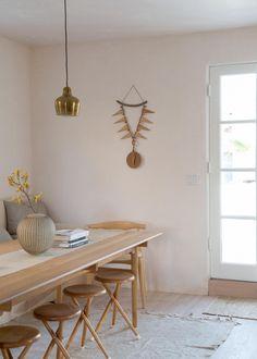 Spaans huis in LA natuurlijke materialen en neutraal kleurenpalet