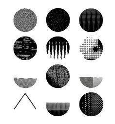 Weight by Margherita Morotti #graphicdesign #design #illustration #blackandwhite #texture