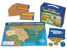 Lakeshore Learning - Search Results for geography Interactive Learning, Learning Games, Games To Play, Oregon Trail Card Game, Geography Games For Kids, Native American Games, Teacher Magazine, Maps For Kids, Lakeshore Learning