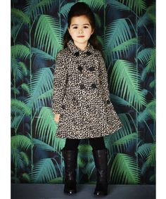 Baby K by Myleene Klass, Spring 2014. A fashionable cover up, this trench coat will keep your little one cosy on chilly days. #ChildrensFashion #Kids