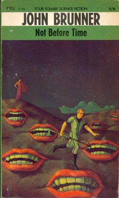 A surreal, symbolic 1968 cover. -- Can't imagine what this book is about.