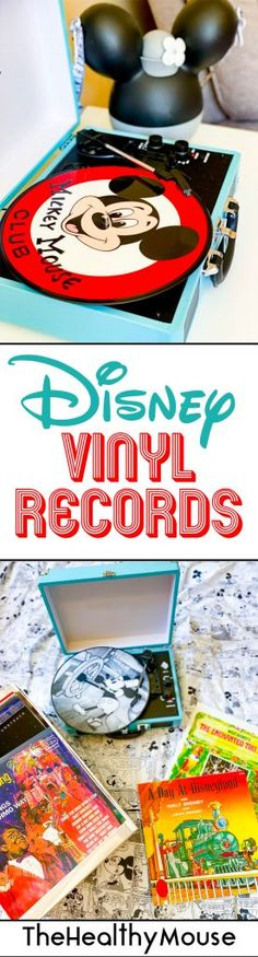 Experience the magic of Disneyland from home through music, with some of my favorite DIsney vinyl records from Disney Music Emporium!