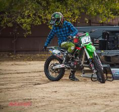 Josh Hansen on his Kawasaki Kawasaki Dirt Bikes, Mx Bikes, Dirtbikes, Bike Stuff, Hare, Motocross, Trials, Offroad, Motorcycles
